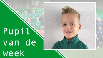 Pupil van de Week Roan van Middendorp